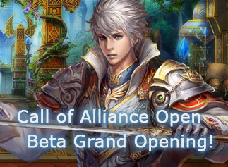 Call of Alliance-Open Beta Grand Opening!