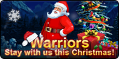 Pockie Saints- Warriors, stay with us this Christmas!