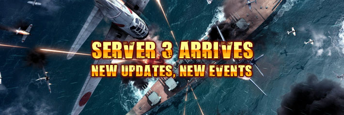 Warfare-SERVER 3 ARRIVES NEW UPDATES, NEW EVENTS