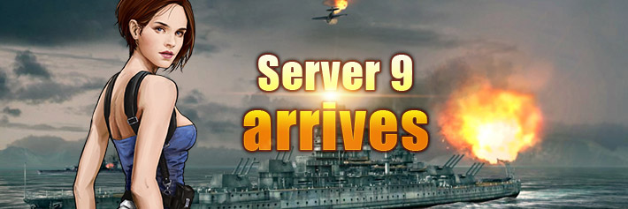 Warfare-Server 9 arrives