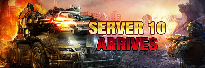 Warfare-Server 10 arrives