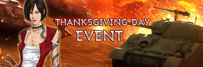Warfare-Thanksgiving Day Event