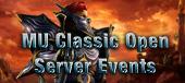 MU Classic-Mu Classic open Server Events