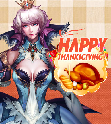 League of Angels-Happy Thanksgiving!
