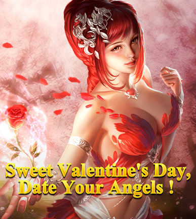 League of Angels-Sweet Valentine's Day!