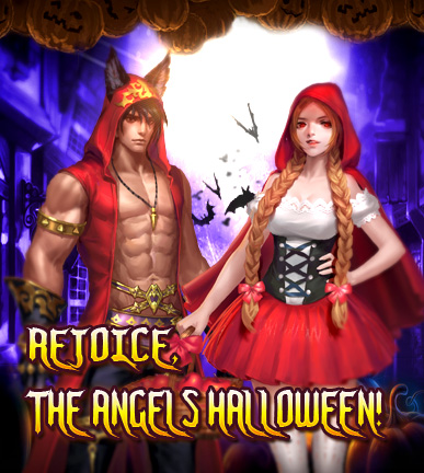 League of Angels-Rejoice, the Angels Halloween!