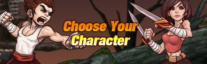 Endless Fury-Choose Your Character
