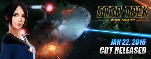 Star Trek-Star Trek CBT Release
