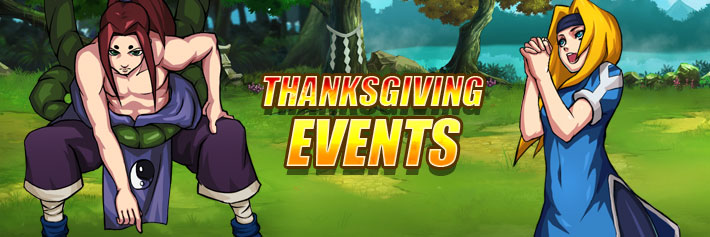 I am Ninja-Thanksgiving Events