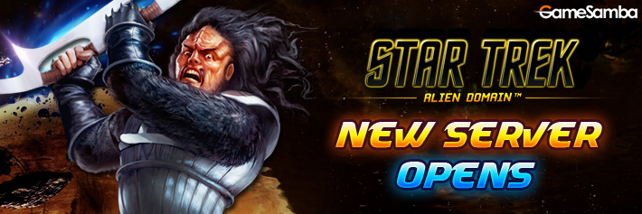 STAR TREK-New Server Opens