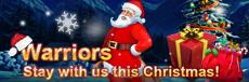 I am Ninja-Warriors, stay with us this Christmas!