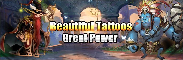 Demon Crusade-Beautiful Tattoos ,Great Power