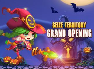 Rainbow Saga—Seize Territory grand opening