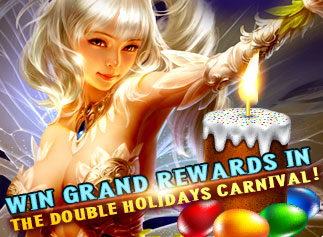 Rainbow Saga—Win Grand Rewards in the Double Holidays Carnival!