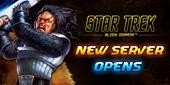 STAR TREK-New Server Opens