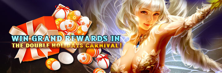 MU Classic-Win Grand Rewards in the Double Holidays Carnival!