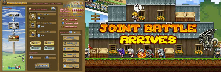 Pixel Hero-Joint Battle Arrives