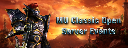 MU Classic-Mu Classic open Server Events