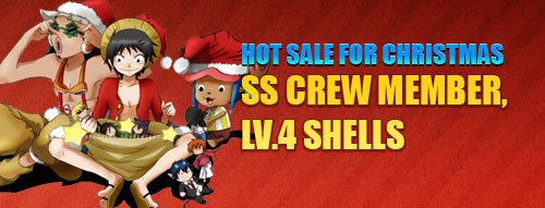 Pockie Pirate-Hot Sale for Christmas SS Crew Member, LV.4 Shells