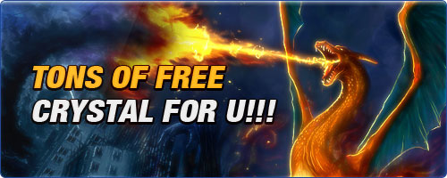 Tons of Free Crystal for U!!!