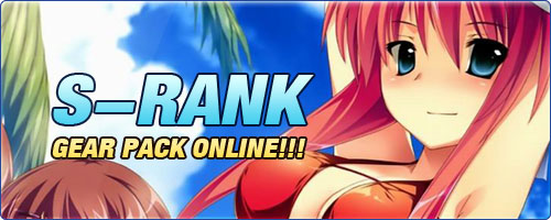S-rank Gear Pack Online!!!