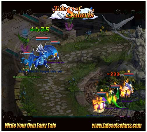 Tales of Solaris-Rise to the challenge of Ancient Boss with lovely pets!