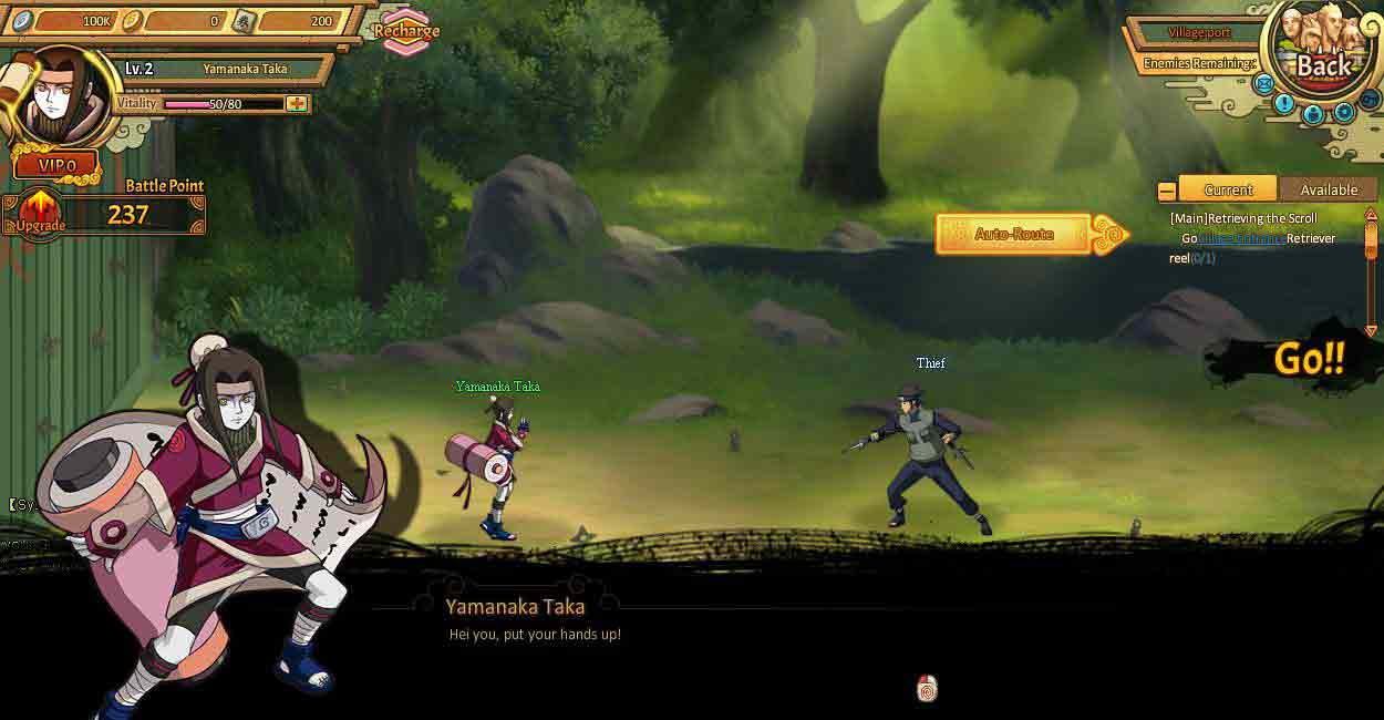 I am Ninja - Epic Online RPG - Choose Your Role and Play Now!