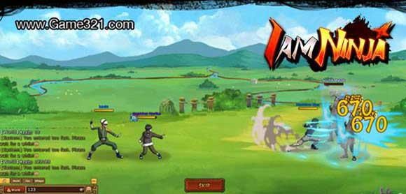 I am Ninja - Free Browser RPG - Explore the Ninja World!