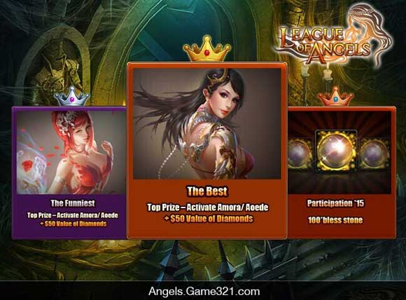 League of Angels Official Site-Battle the evil with your Angel!-League of Angels
