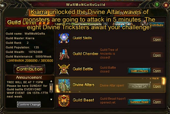 Wartune - Combine some of your favorite features from multiple game genres.