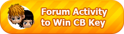 Forum Activity to Win CB Key